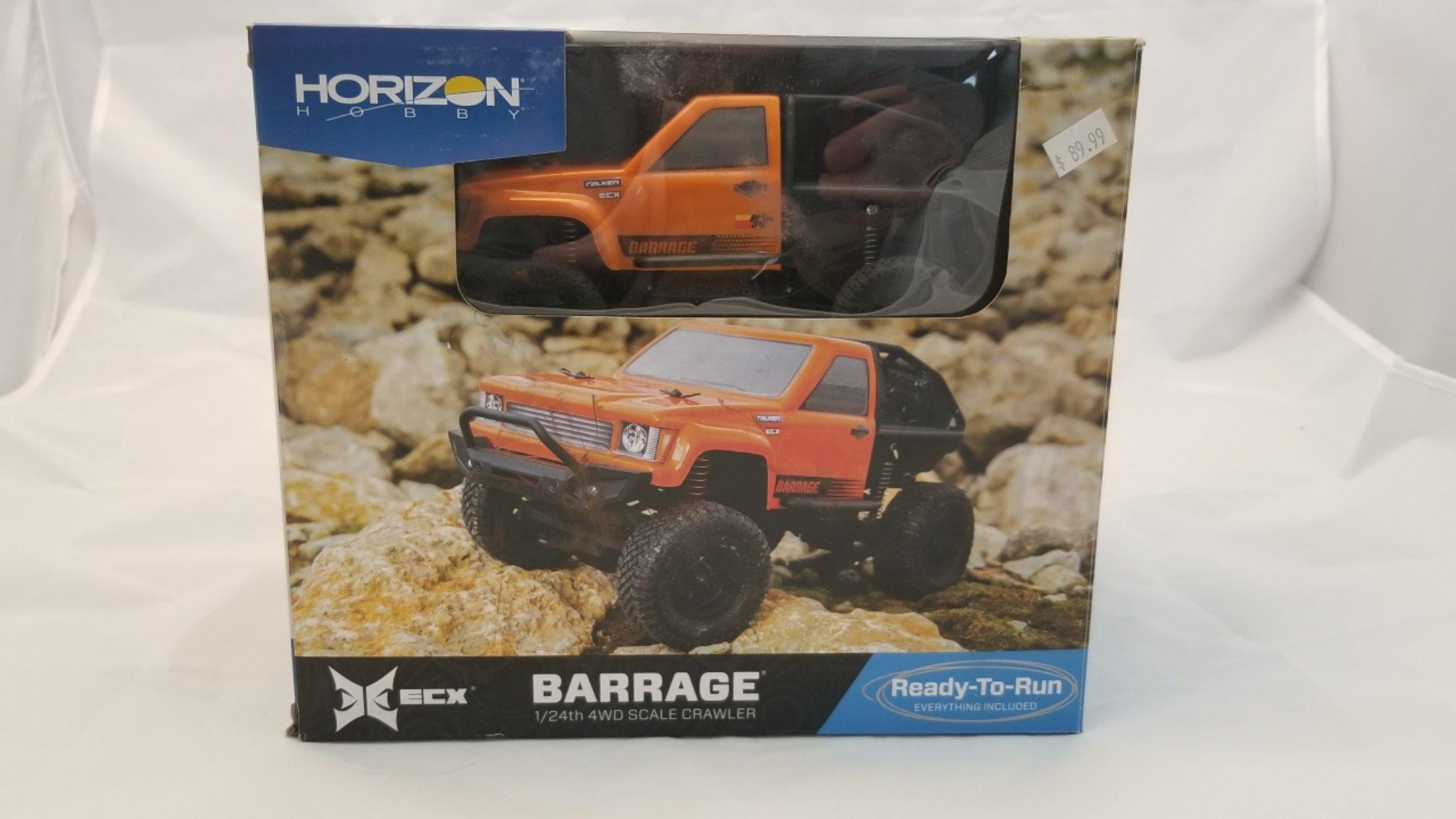 ECX Barrage 1/24 RTR Micro Rock Crawler w/2.4GHz Radio, Battery & Charger (open box) ECX00017T2