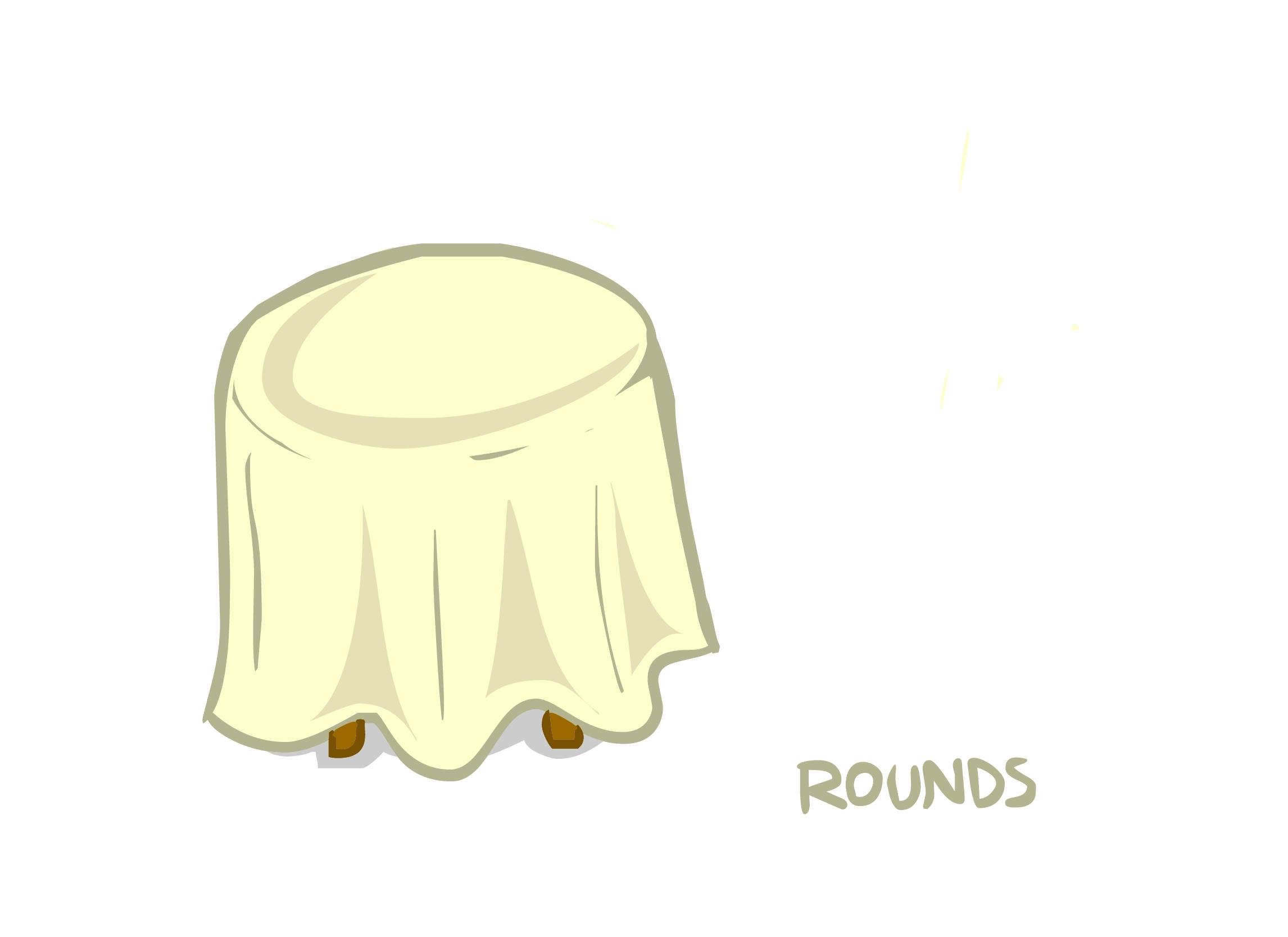Lamour Matte Satin Round Tablecloths 00076