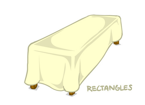 9816 Vinyl Rectangle Tablecloths 01495