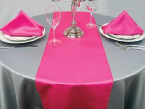 Hot Pink Matte Satin