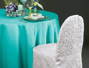 Lamour Matte Satin Rectangle Tablecloths