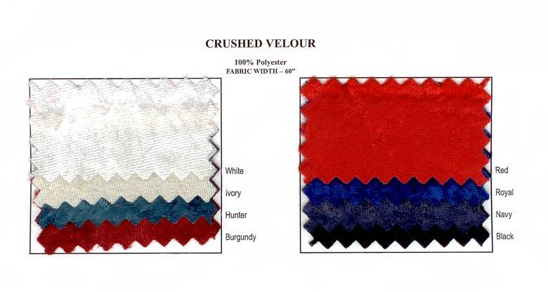 Crushed Velour Swatch Card 02159