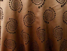 "Linens For Less 60""by 60"" Square in Khaki Kaleidoscope damask LFL-101"