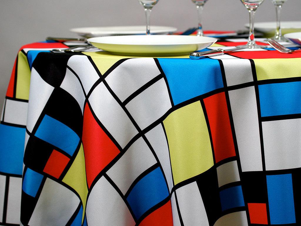 Mondrian Fabric Swatch 02385