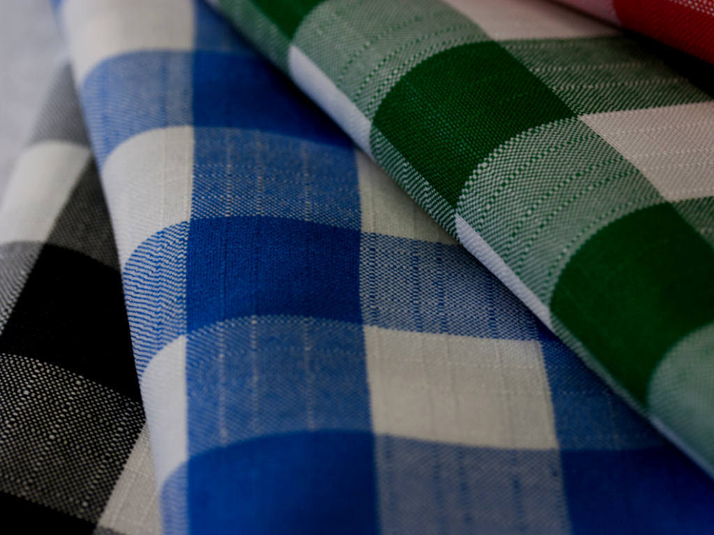 Polycheck Round Tablecloths