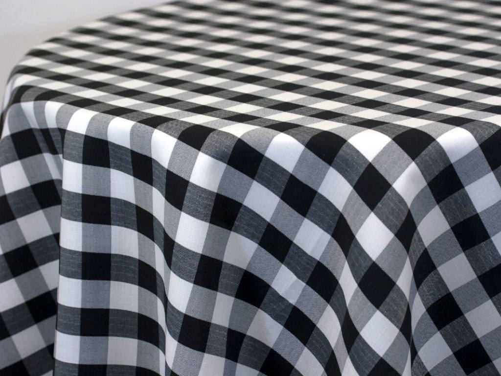 Polycheck Fabric By The Yard Polycheck Linen Look 72