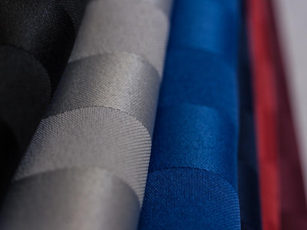 Poly Stripe Oval Tablecloths