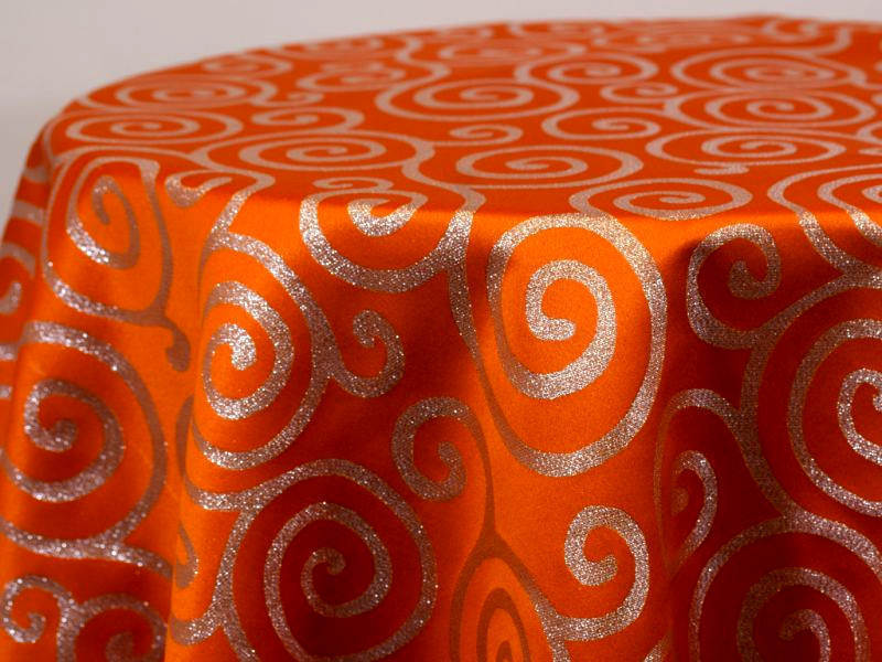 Orange/Silver