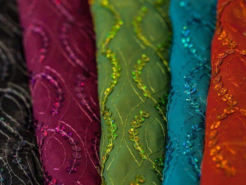 Sequins Square Tablecloths