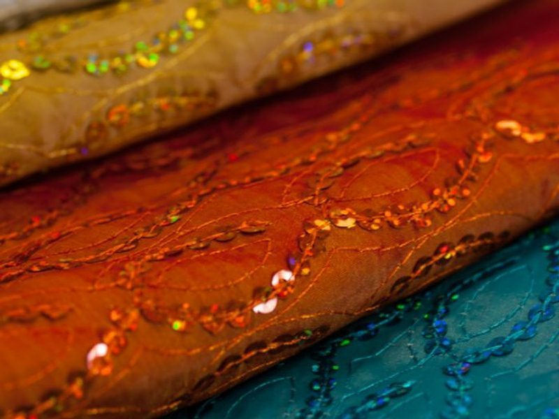 Sequins Fabric by the Yard