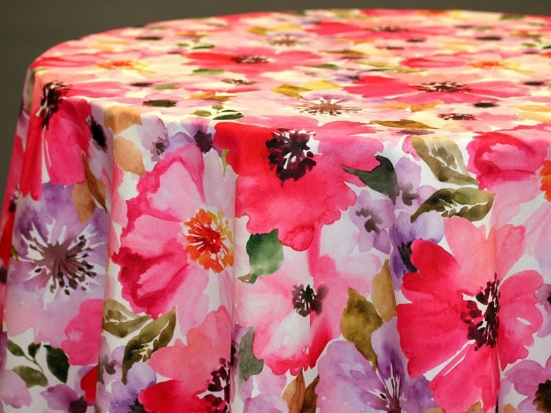Elisa Custom Print Table Skirting by the foot
