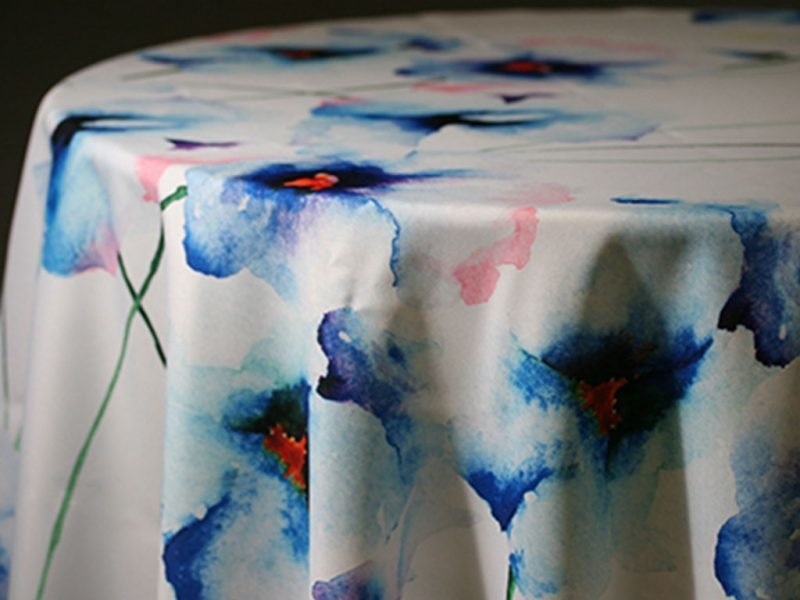 Christina Custom Print Table Skirting by the foot