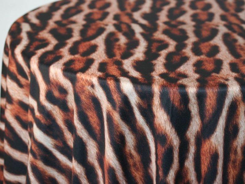 Tiger Custom Print Round Tablecloths