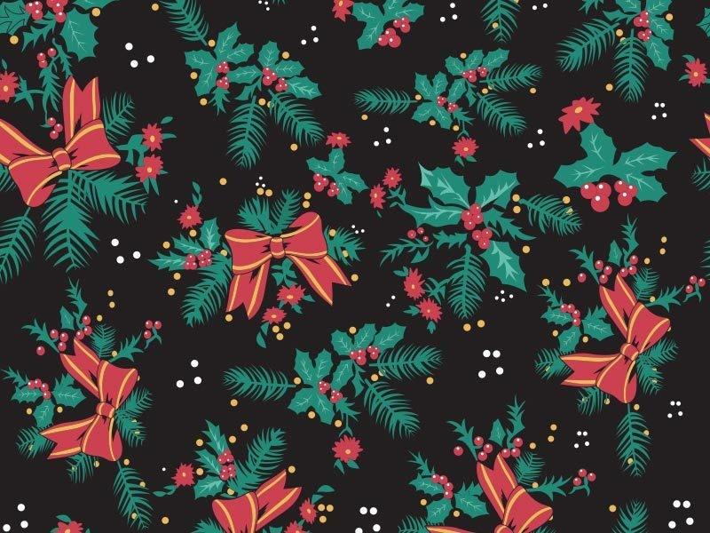 Jingle Print Fabric Swatch 01973