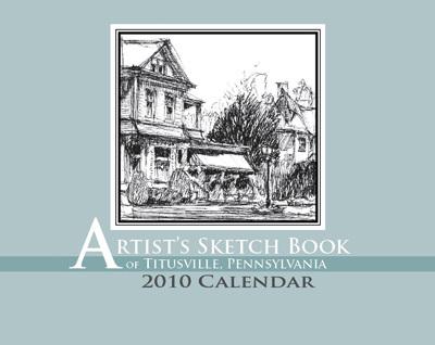 Artist Skethchbook of Titusville, Pennsylvania