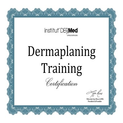 Online Dermaplaning Training