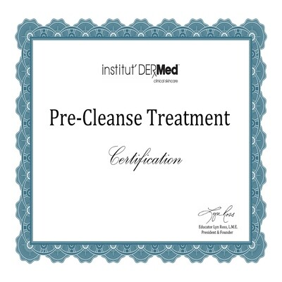 Online - The Pre-Cleansing Process Skills Training