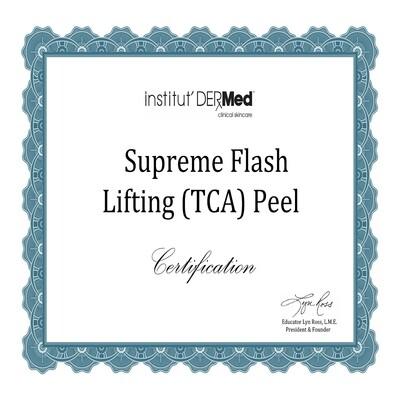 Online Supreme Flash Lifting Peel Training
