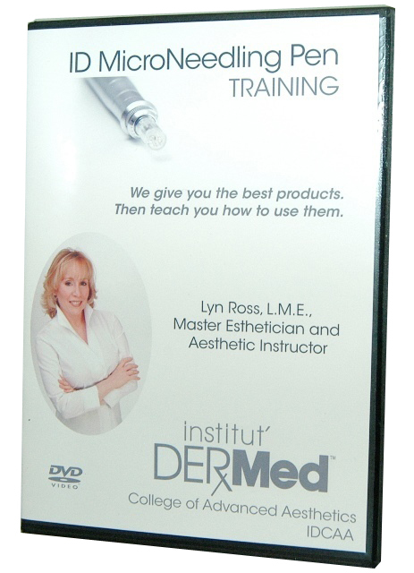 Institut Dermed Microneedling Pen DVD Training