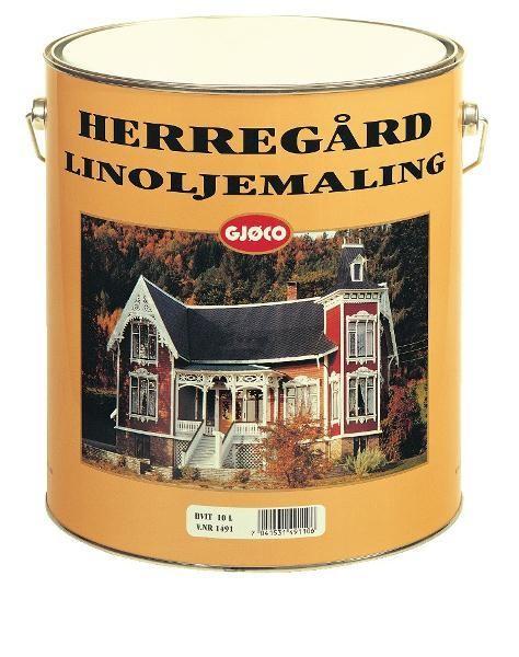 Herregård Linoljemaling 10L