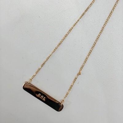 Gold-Filled PHL Bare Necklace