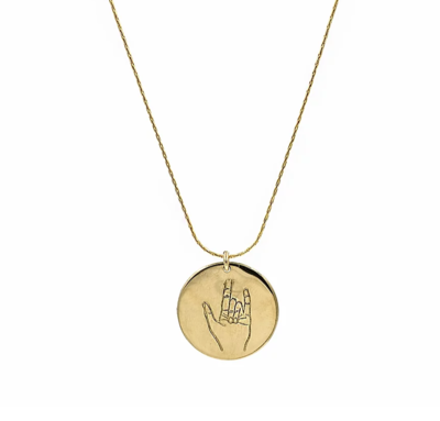 Gold-Filled Coin Necklace