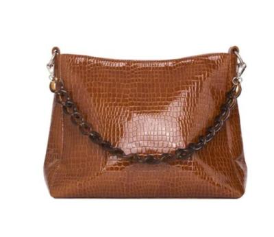 Amble Croco Vegan Leather Bag