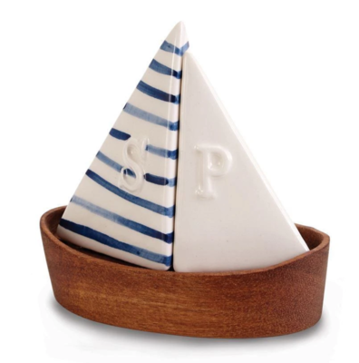 Sailboat Salt and Pepper Shakers