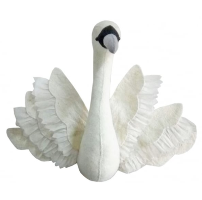 Swan Head with Wings