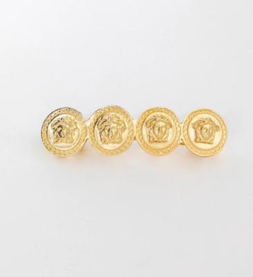 Gold Coin Hair Clip