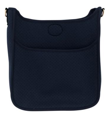 Perforated Navy Neoprene Bag/No Strap