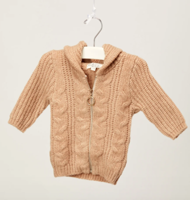 Abigail Zip-Up Sweater