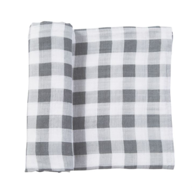 Muslin Gingham Swaddle