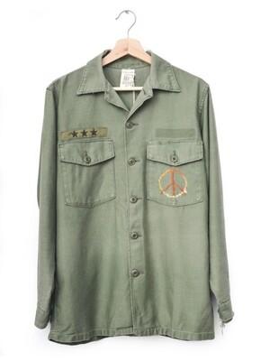 Vintage Rainbow Army Jacket