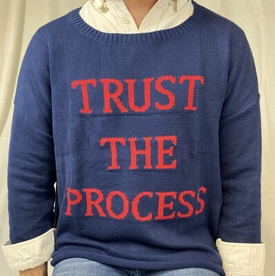 Trust the Process Knit Sweater