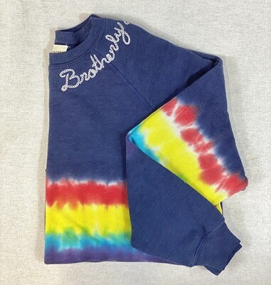 Tie-Dye Brotherly Love Sweatshirt