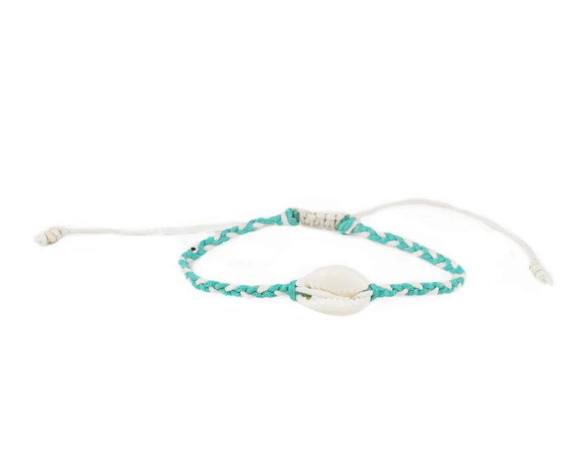 Braided Shell Bracelet