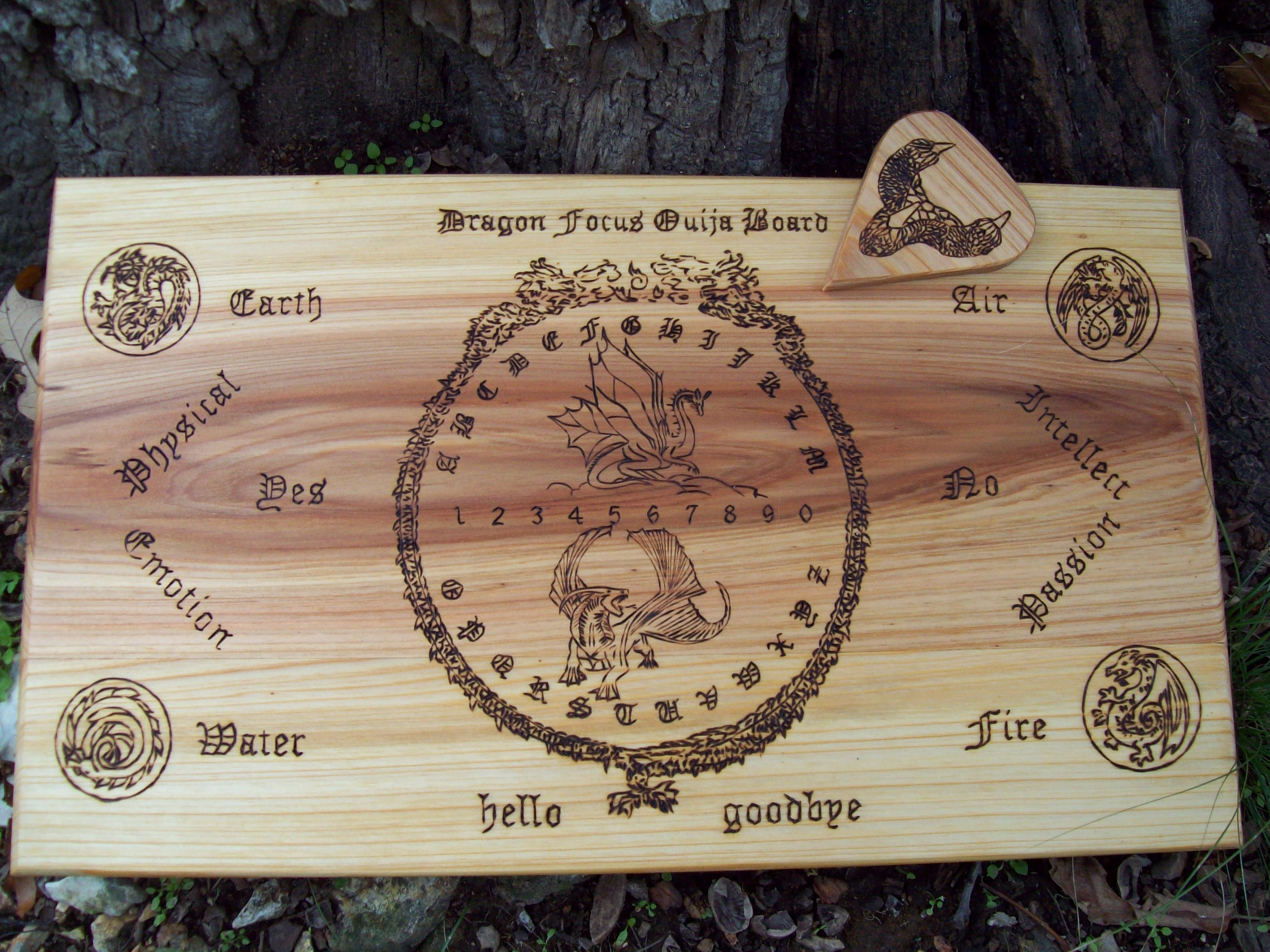 Ouija board paranormal and haunting designs dragon theme on cyprus example only buycottarizona Gallery