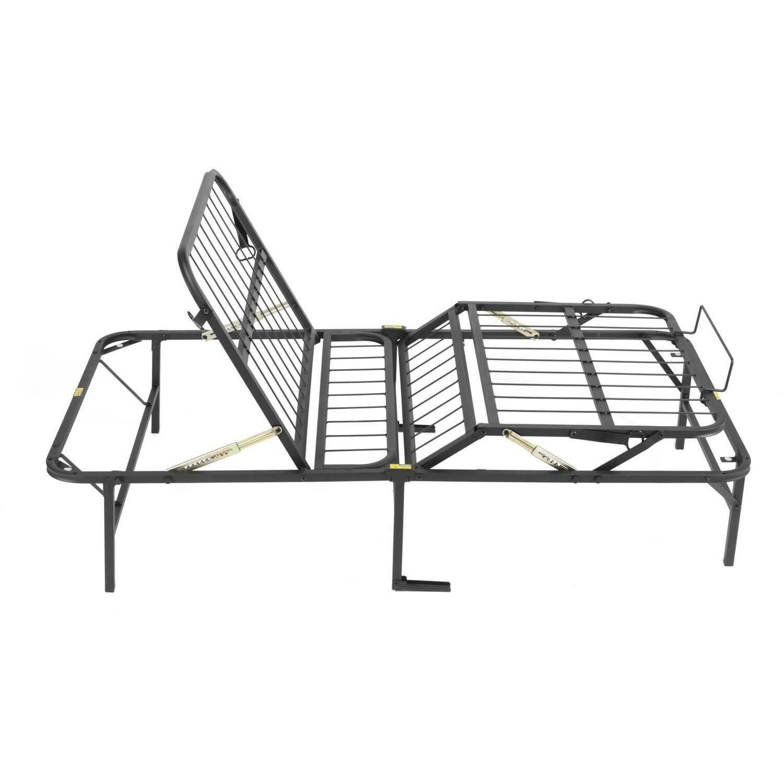 Pragma Simple Adjust Bed Frame Head and Foot, Twin XL