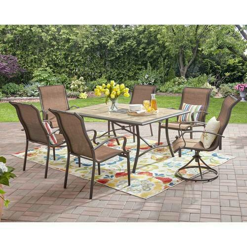 Mainstays Wesley Creek 6-Piece Chairs Only
