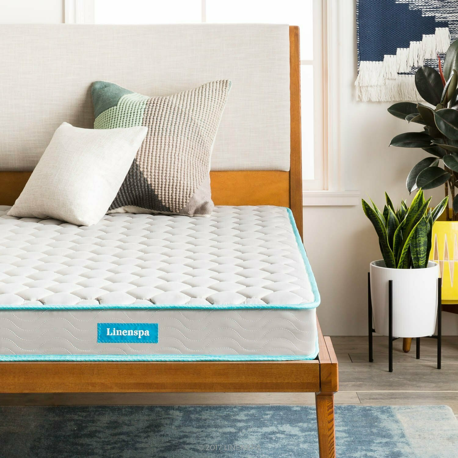 """Linenspa 6"""" Traditional Innerspring Mattress-in-a-Box, Full"""