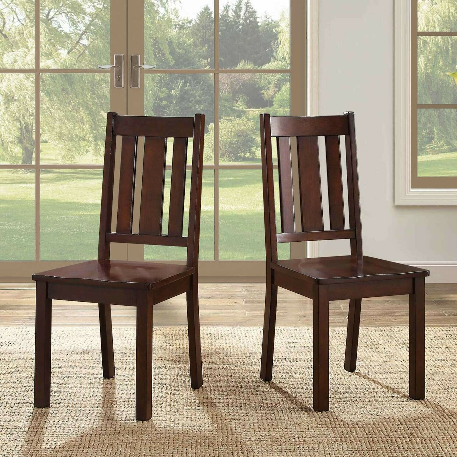 Bankston Dining Chair, Set of 2, Mocha