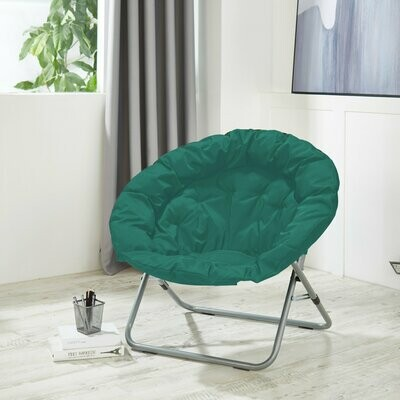Urban Shop Oversized Moon Chair, Dark Teal
