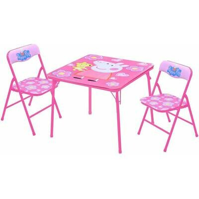 Peppa Pig Table and Chairs Set