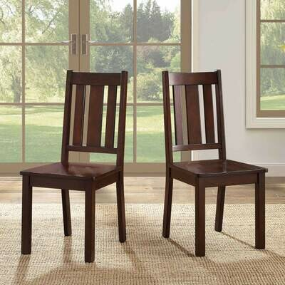 Bankston Dining Chair, Set of 2, Mocha