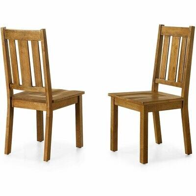 Bankston Dining Chair, Set of 2, Honey