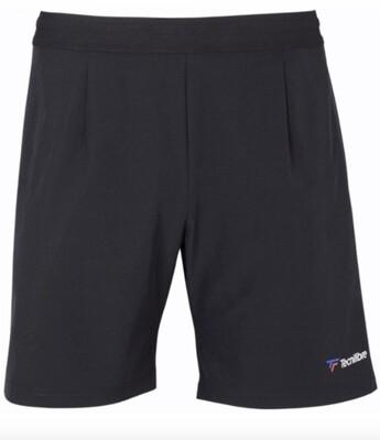 Tennis Sommerhose, Tecnifibre Stretch Short, schwarz