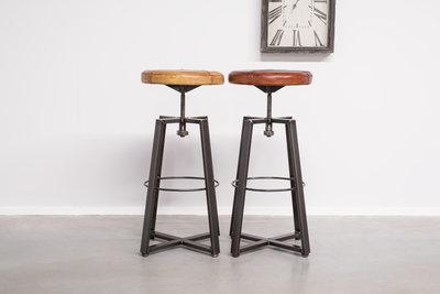 barhocker echtleder beautiful echtleder barhocker chrom zenith with barhocker echtleder. Black Bedroom Furniture Sets. Home Design Ideas