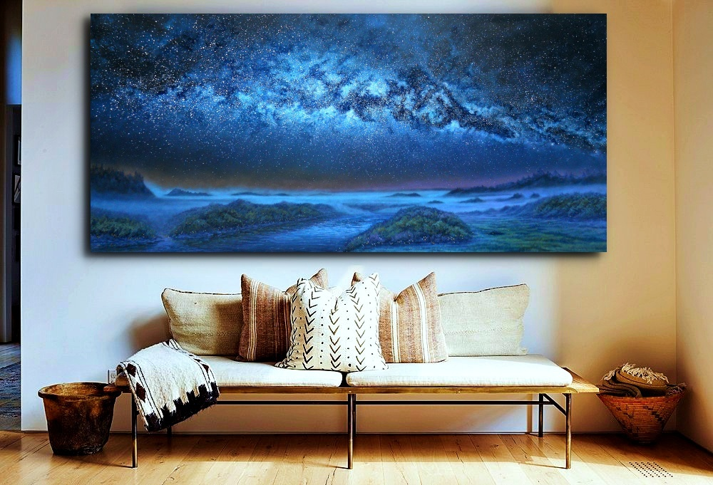 As Above - So Below Giclee on Canvas