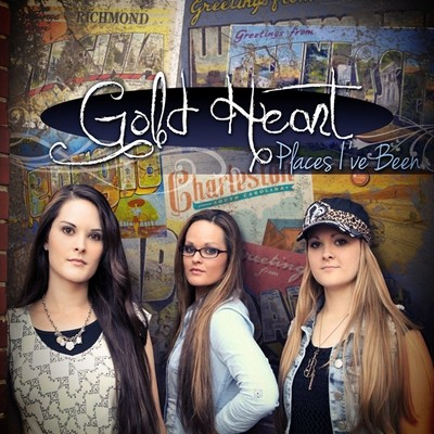 Gold Heart - Places I've Been
